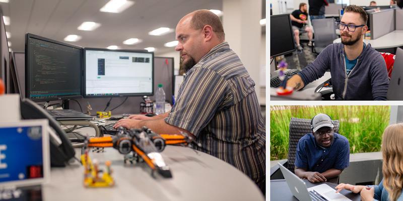 Software Team Collage