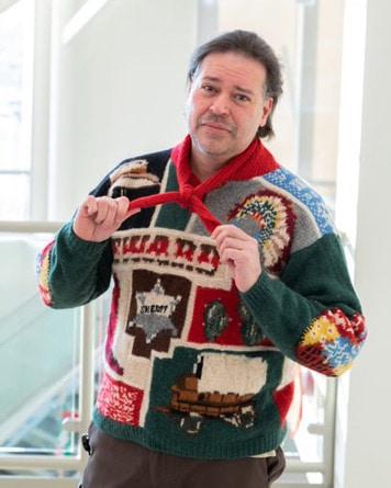 Scott ugly sweater