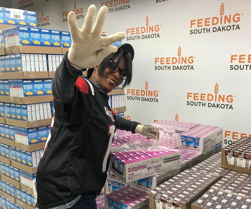Janice at Feeding South Dakota