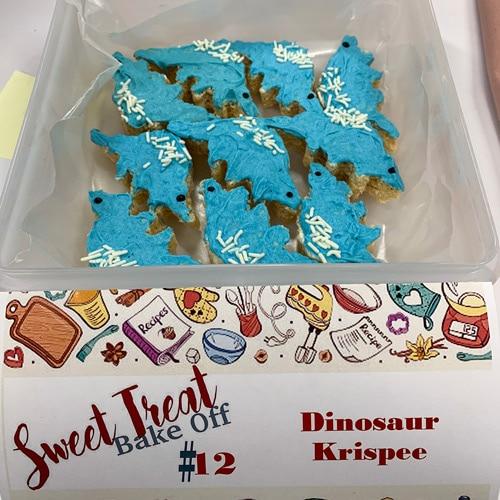 Dinosaur Krispee